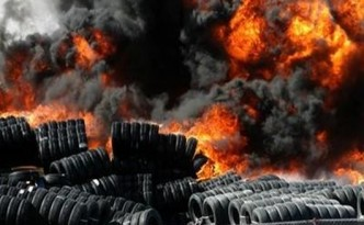 Emissions from Open Tire Fires