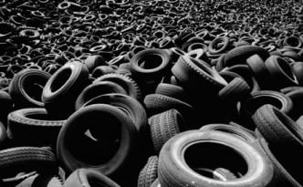 Накопление использованных автомобильных шин